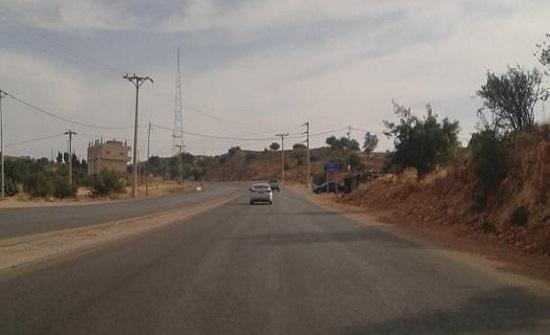 إغلاق مسرب من طريق اربد - عجلون اعتبارا من غد