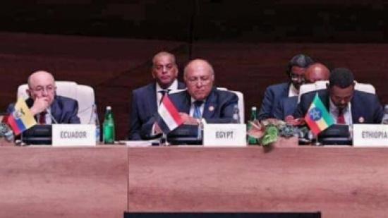 مصر تجدد التأكيد على الحل الشامل للقضية الفلسطينية