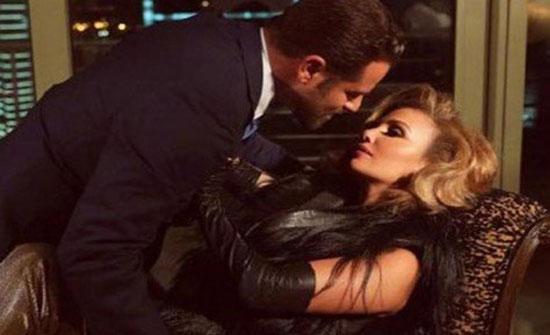 بالفيديو :قبلة رومانسية من نيكول لزوجها.. ومتابعون: الله يهنيكم