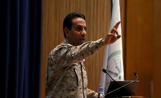التحالف : تدمير 5 طائرات مسيرة مفخخة و باليستي أطلقها الحوثيون نحو الرياض