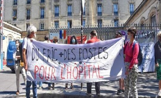 عاملون بقطاع الصحة في فرنسا: نريد أسرة وأموالا لا أوسمة (صور + فيديو)