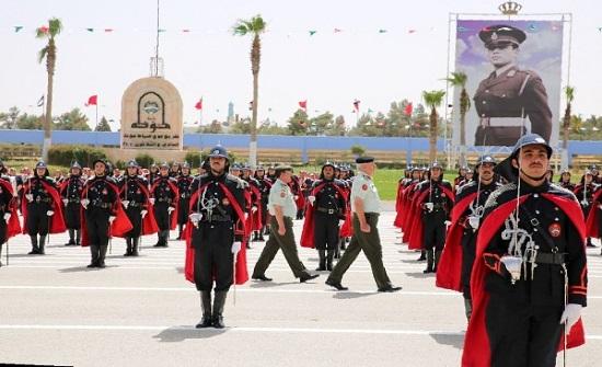 صور : مندوباً عن الملك .. الحنيطي يرعى حفل تخريج فوج ضباط مؤتة 31