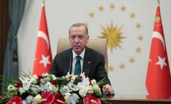 أردوغان: تركيا مع الاستقرار شرقي المتوسط