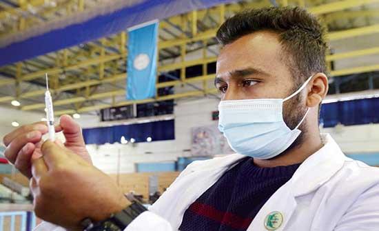 تطعيم 550 معلماً ومعلمة بلقاح كورونا بالاغوار الشمالية