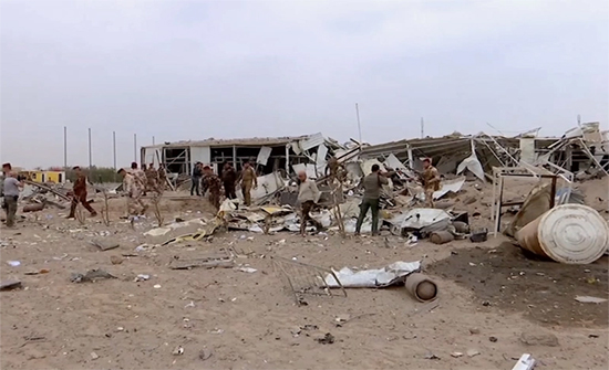 الحشد الشعبي ينفي تعرضه لقصف جوي غربي العراق