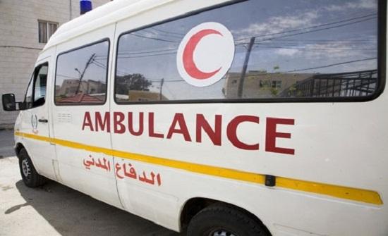وفاة طفل واصابة 7 آخرين في حادث تدهور بالكرك