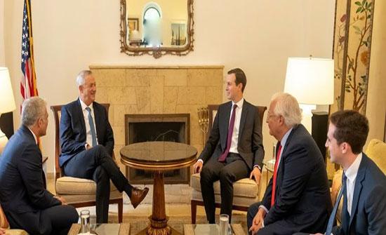 كوشنر يلتقي نتنياهو وغانتس في القدس