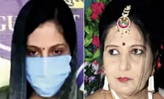 الهند : فتاة تتخلص من حماتها بآلة حديدية وتحاول حرق جثتها