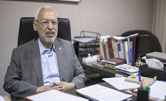 """الغنوشي يتهم """"قوى"""" باستهداف ديمقراطية تونس وتعطيل برلمانها"""