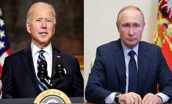 الكرملين: بوتين وبايدن ناقشا مليا العلاقات الروسية والأمريكية وبعض بنود الأجندة الدولية