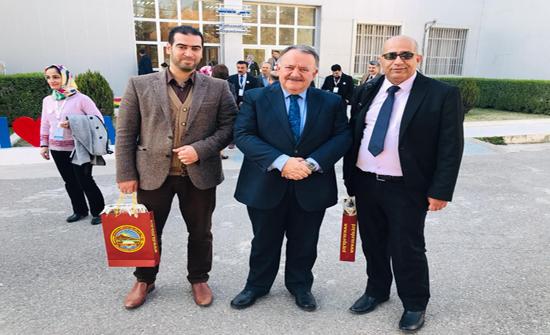 """استاذان من"""" إربد الأهلية """" يشاركان في مؤتمر الرياضيات الدولي في إقليم كردستان العراق"""
