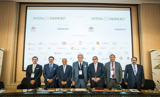 مشاركة اردنية بالمنتدى العربي الأيطالي الثالث