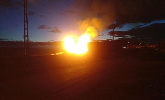 إيران.. حريق في مصنع بتروكيماويات بولاية خوزستان