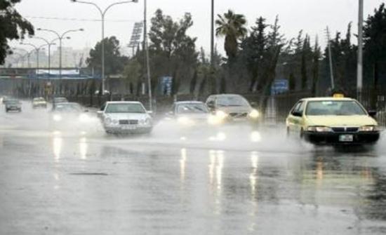 ادارة السير تحذر السائقين من الحالة الجوية