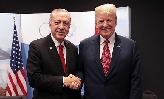 أردوغان يشكر ترامب لجهوده الصادقة في تطوير العلاقات