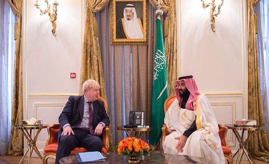 جونسون يؤكد لمحمد بن سلمان أهمية الرد الجماعي على هجوم أرامكو
