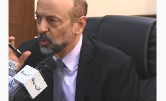 لقاء للرزاز على التلفزيون الاردني حول اضراب المعلمين
