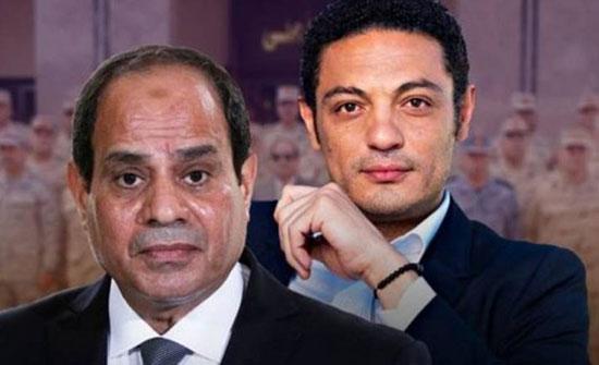 ضابط مصري يسرب صورا من داخل قصر السيسي الذي تحدث عنه محمد علي- (فيديو)