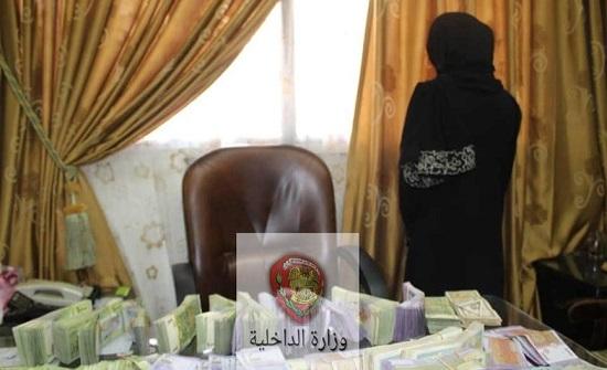 القبض على امرأة سرقت 50 منزلاً في سوريا!