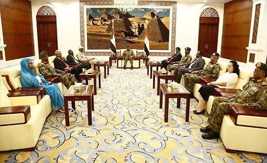 """""""السيادي"""" السوداني: السلام من أولويات الفترة الانتقالية"""