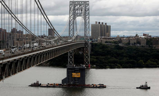 انذار بوجود قنبلة يغلق جسر جورج واشنطن في نيويورك