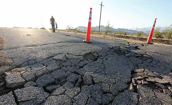 زلزال بقوة 6.2 درجة يضرب ولاية كاليفورنيا الأمريكية