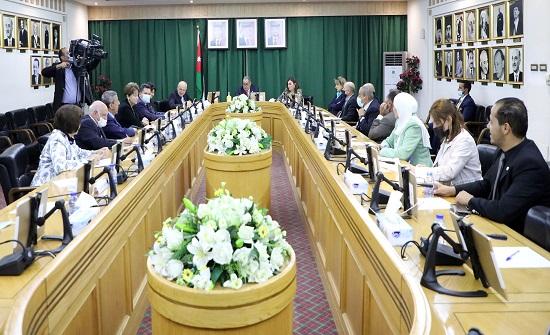 لجنة الأخوة الأردنية التركية في الأعيان تلتقي السفير ارماز