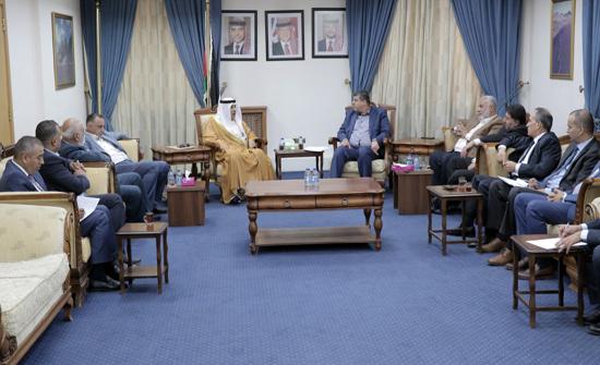 """السفير الكويتي لـ""""فلسطين النيابية"""": نحن والأردن في خندق واحد للدفاع عن القضية الفلسطينية"""