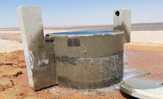 إصلاح عُطل الديسي وإعادة ضخ المياه