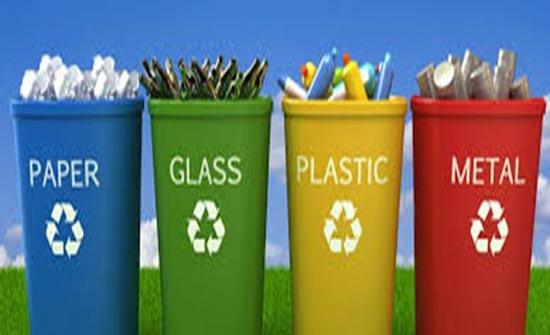 الامانة تطبيق مشروع فرز النفايات من المصدر السبت