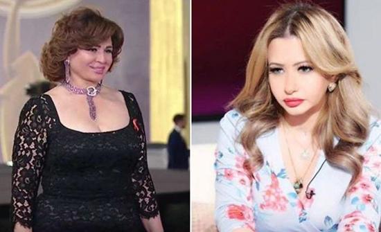 بالفيديو : بعد سخريتها منها رد فعل مفاجئ من مي العيدان على تعليق إلهام شاهين