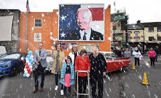 لماذا احتفلت هذه البلدة الإيرلندية بفوز بايدن بالرئاسة؟
