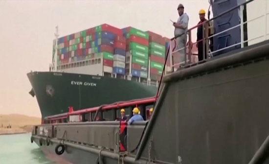 هيئة قناة السويس: نتطلع للتعاون مع الولايات المتحدة لتعويم السفينة الجانحة