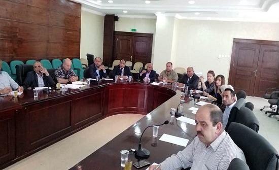 محافظة البلقاء تبحث خطة الطوارئ لفصل الشتاء