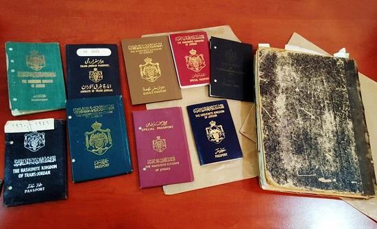 صور  :مراحل تطور جواز السفر الأردني في 100 عام