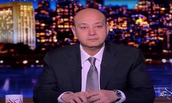 شاهد .. عمرو اديب يبكي على الهواء!!