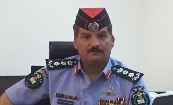 تهنئة للعقيد محمد العدوان بمناسبة تعيينه نائبا لمدير إدارة الأمن الوقائي