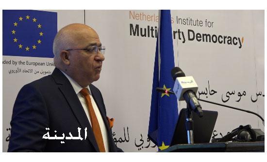 وزير الشؤون السياسية يؤكد اهمية المشاركة الاقتصادية للمرأة