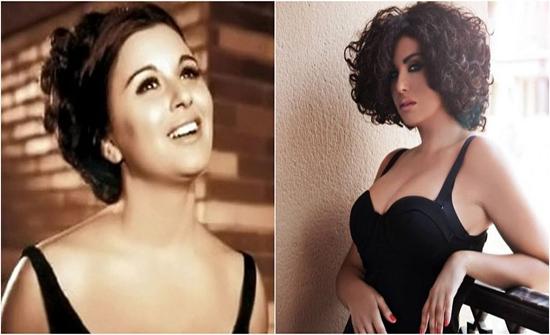 دانا حمدان ترد على منتقدي نشر صورتها مع سعاد حسني .. وتعلق: راضية بالظلم .. صور
