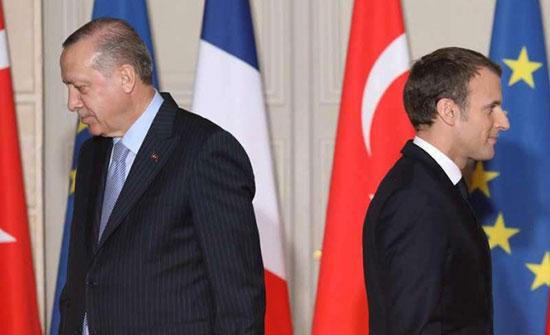 ماكرون: لا نتفق مع تركيا على تعريف الإرهاب
