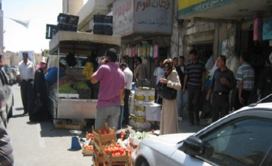 حركة تجارية طبيعية في أسواق جنوب جرش