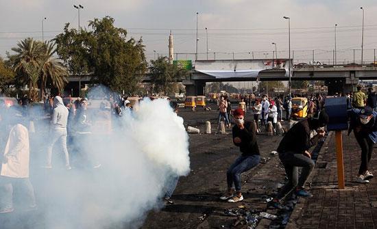 """""""حقوق الإنسان في العراق"""": 10 قتلى وعشرات الجرحى خلال مظاهرات اليومين الماضيين"""