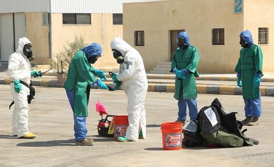 تمرين لمكافحة التهريب النووي في الاردن