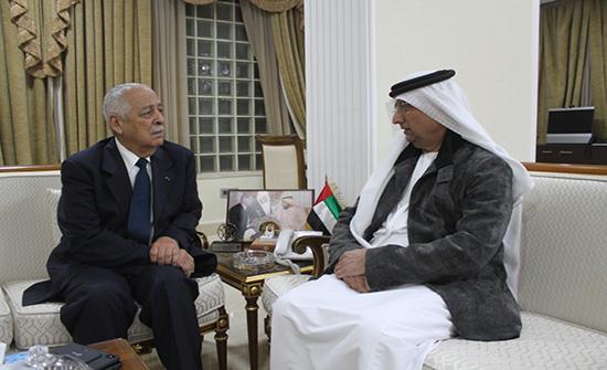 العيسوي يعزي في السفارة الإماراتية في عمان بوفاة الشيخ سلطان بن زايد