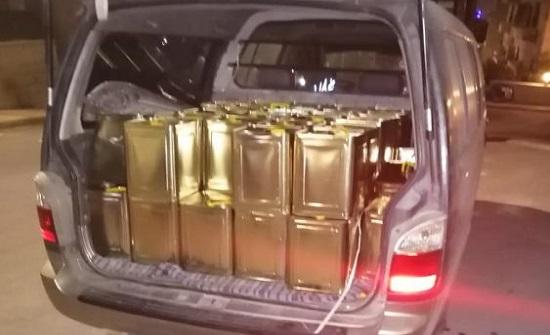 عمان : التحفظ على 55 تنكة زيت زيتون مغشوش
