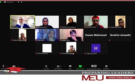 اختتام دورة صحافة الهاتف المحمول الثانية في جامعة الشرق الأوسط