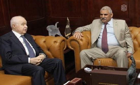 أبوغزاله يستقبل السفير الباكستاني في الأردن