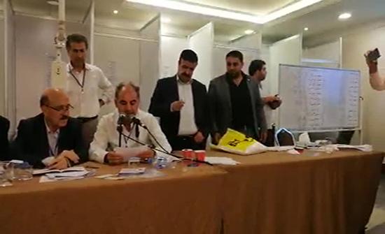 فوز قائمة تحالف تياري التجمع الثقافي والقومي في انتخابات رابطة الكتاب الاردنيين