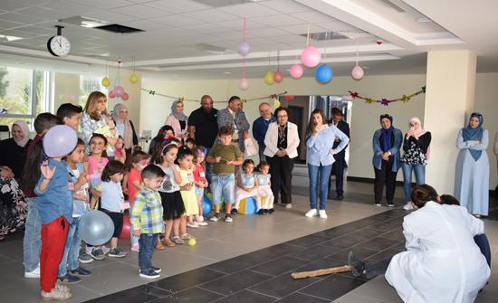 الألمانية الأردنية تنظم يوما للقراءة التفاعلية للأطفال