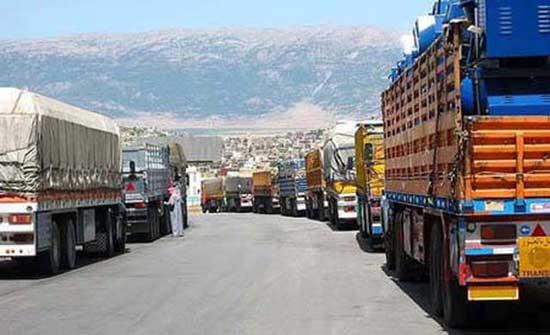 منح 50 سائق شاحنة أردنيا تأشيرات لإدخال البضائع للجانب العراقي